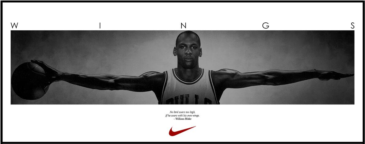 najlepsza wartość przemyślenia na temat 100% najwyższej jakości US $17.81 19% OFF|Michael Jordan Wings Basketball Sports Door Decor posters  art silk Fabric Poster-in Painting & Calligraphy from Home & Garden on ...
