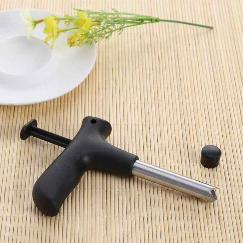 1PC Useful Coconut Opener Stainless Steel Opening Driller Drill Cut Hole With Cleaning Stick DIY Knife Hole Home Kitchen Tools