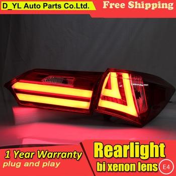 Car Styling for Tail Lights 2014 Toyota Corolla LED Rear Light Fog light Rear Lamp DRL Brake+Park+Signal