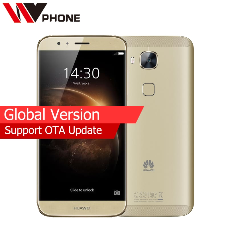 bilder für Globale Version Original Huawei g7 plus 4G Handy Octa Core 3G Ram 32G Rom 5,5 zoll 1920*1080 P 3000 mAh Fingerabdruck ID