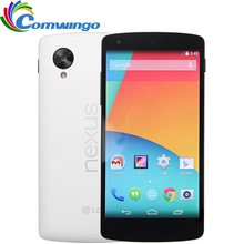 Original LG Google Nexus 5 D820 Quad Core GSM 3G&4G 8MP Smart Android phone WIFI GPS 2GB RAM 16GB ROM Cell Phone LG D820