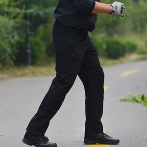 Image 3 - חדש גברים של למתוח טקטי מכנסיים מרובה כיס צבאי כותנה עירוני Combat מכנסיים גברים Slim עבודת מטענים צפצף 3XL BFIX79
