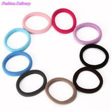 14pcs lot Small Size Fashion Seamless Hair Ropes Hair Band Elastic Cord Rubber Band Ponytail Holder