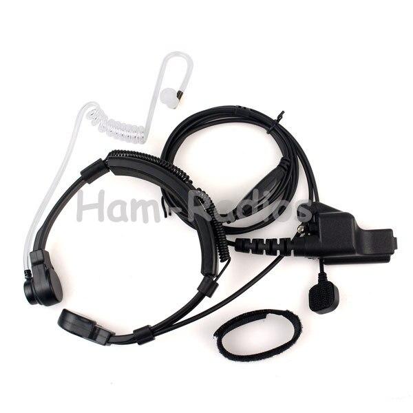 Doigt ptt throat mic covert tube acoustique ecouteur casque pour motorola ht1000 xts5000 xts2500 xts1500 gp900 mts2000 radios