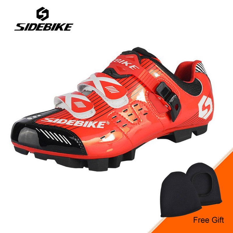 SIDEBIKE Men Mountain Bike Cycling Shoes Breathable MTB Self-Locking Bicycle Shoes Non-slip Shoes Zapatillas Zapato Ciclismo santic new design cycling shoes men outdoor road bike shoes self locking shoes non slip bicycle shoes sapatos with 3 colors
