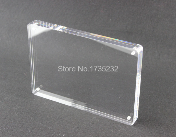 acrylic a5 148210mm thickness 88mm photo frame store poster price list frame