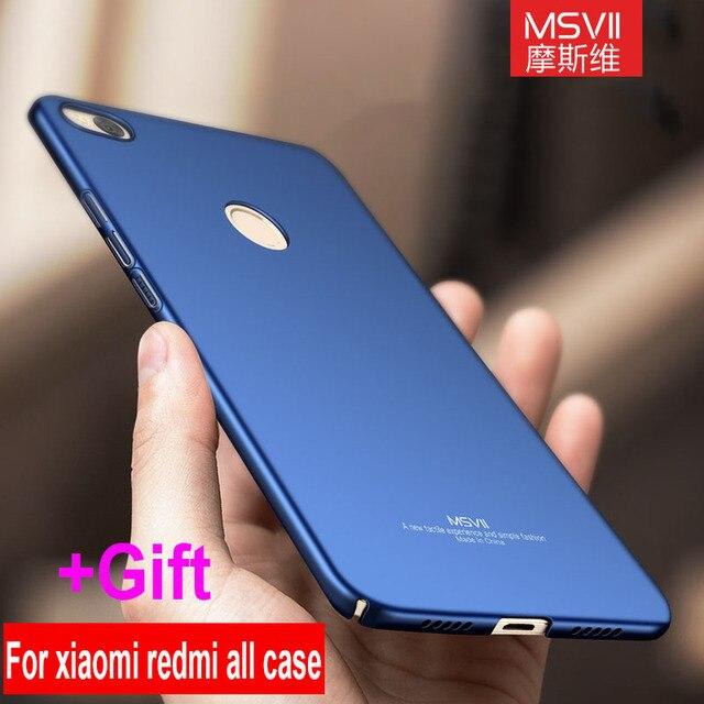 MSVII case For Xiaomi redmi 5 plus case cover For xiaomi