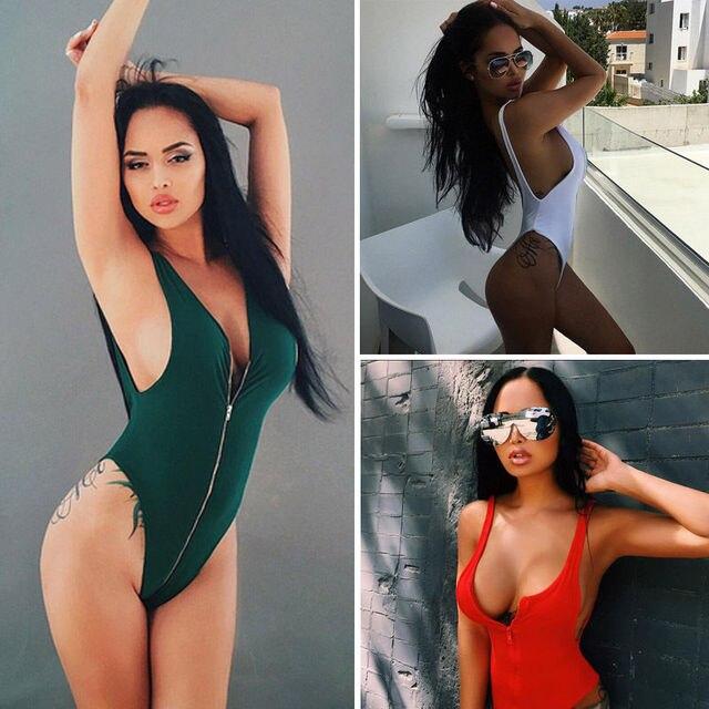 a066d25fa4 ITFABS One Piece Swimsuit 2017 New Plus Size Swimwear Women Vintage Bathing  Suits Summer Beach Wear