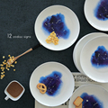 7 Inch Twelve Constellation Series Plate Western-style Food Steak Cake Dishes Ceramic Plate