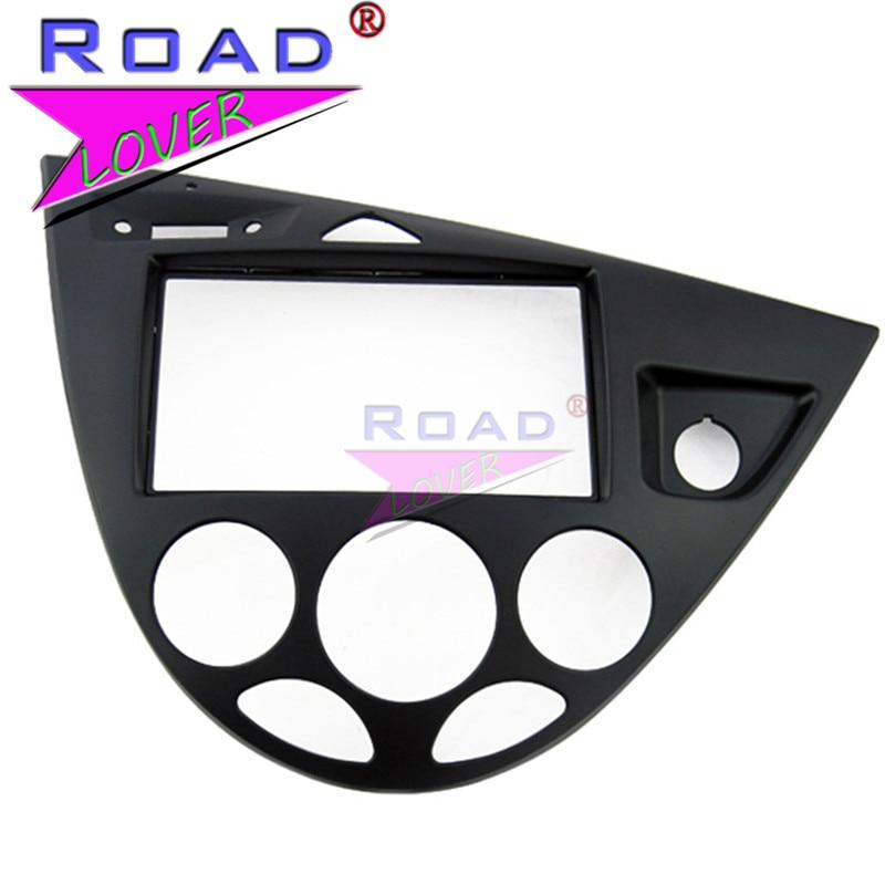 TOPNAVI 2 Din Car Audio Frame Panel Car Radio Fascia For Ford Fiesta/Focus RHD 2006 Auto Air Condition Car Radio Installation