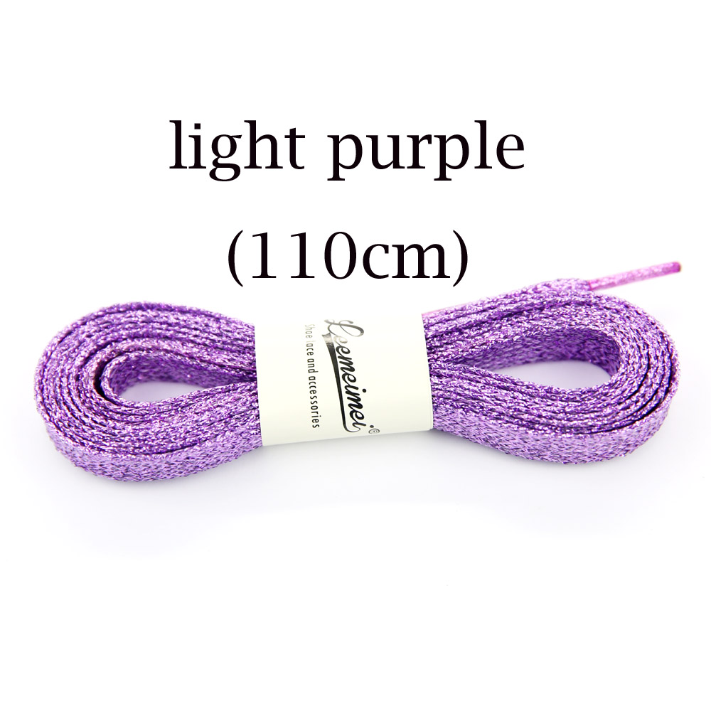 10paris Sport Golden Silver Black Metallic Gold Thread Shoelace Round Rope Laces For Outdoor Climbing Casual Trainer Laces 110cm Shoelaces