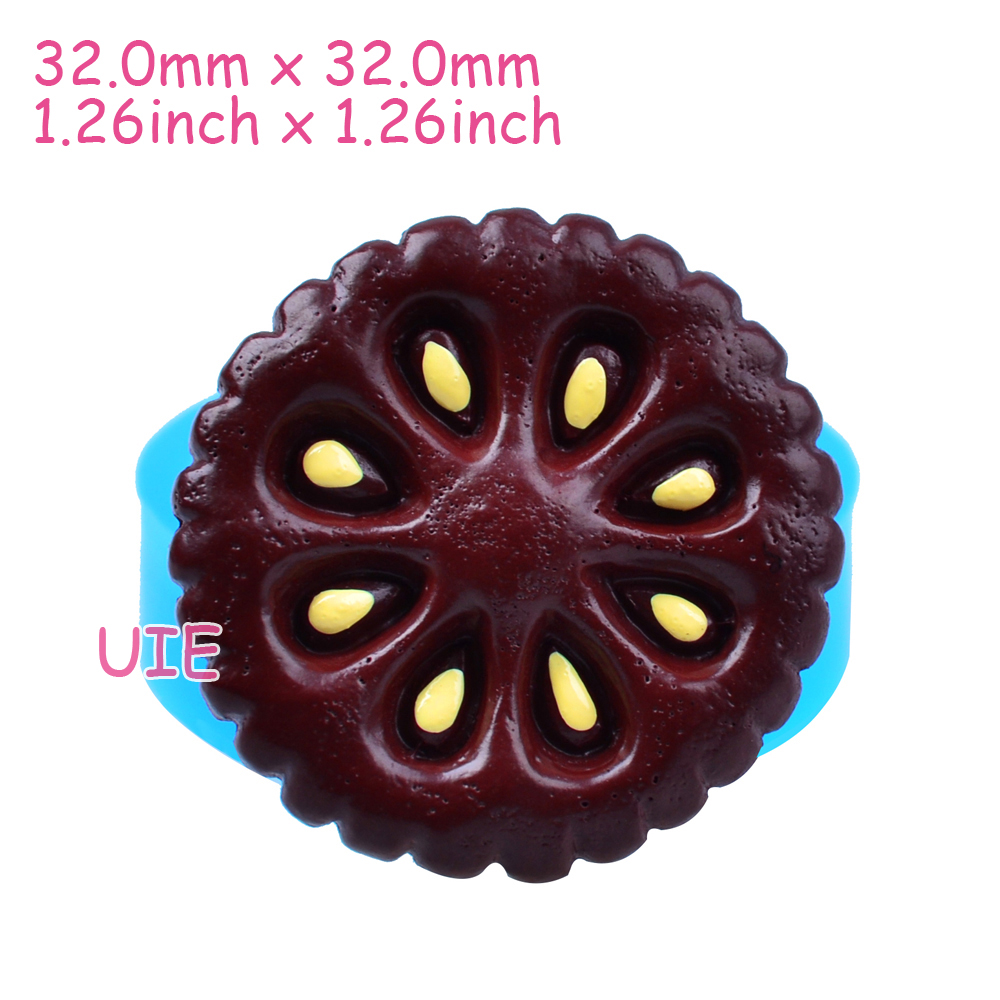 Qyl427u 32mm Round Cookie Silicone Mold For Fondant Sugarcraft