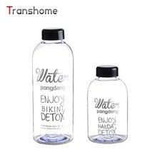 Transhome Vidrio Botella de Agua 600 ml Botella de Agua de Cristal de La Fruta de La Salud Ciclismo Deporte Al Aire Libre a prueba de Fugas de Beber Jugo de Limón botellas