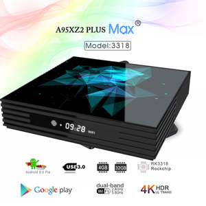Image 2 - Android Tv Box 9.0 A95X Z2 Rockchip 4Gb 32Gb 64Gb 128Gb 2.4/5.0G Wifi bt Google Play 4K Smart Android Doos Tv Pk H96 Max RK3318