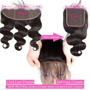 Image 2 - Queenlike Body Wave 6x6 Closure Pre Plucked With Baby Hair Natural Hairline Brazilian Remy Hair Big Lace Size Swiss Lace Closure