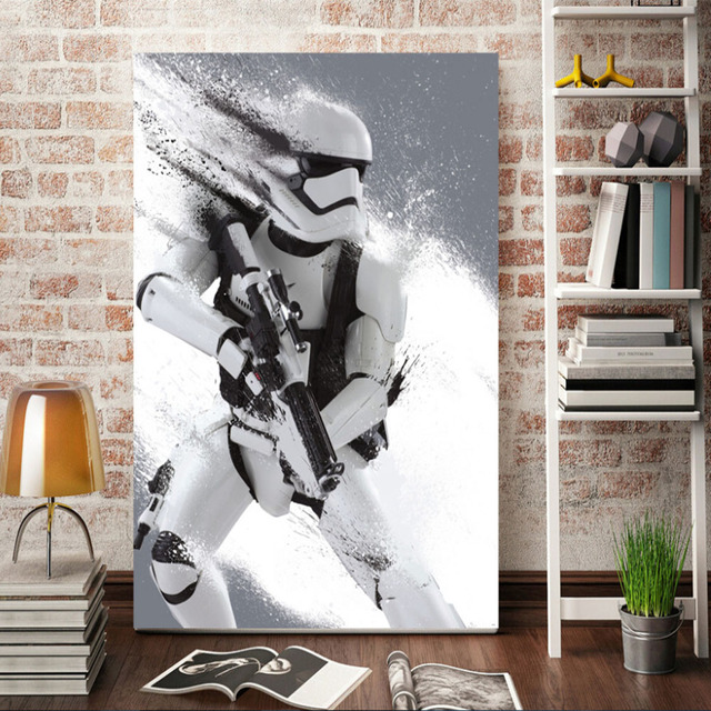 Charmant Print Stormtrooper Star Wars Movie Film Poster Home Decor Wall Art Kids  Wall Decor Picture Print