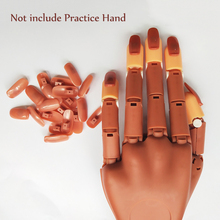 400 pcs  False nails Professional Nail Tool Practice Hand Manicure Tools Contains 5 Sizes