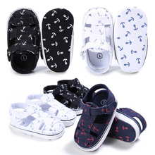 Toddler Baby Boy Summer Infant Soft Crib Shoes 0-6 6-12 12-18 Month Children Boys Casual First Walkers DS19