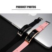 Лучшая цена Умные часы наручные Bluetooth новые модные Камера сердечного ритма для IOS Android Бесплатная доставка H6T6