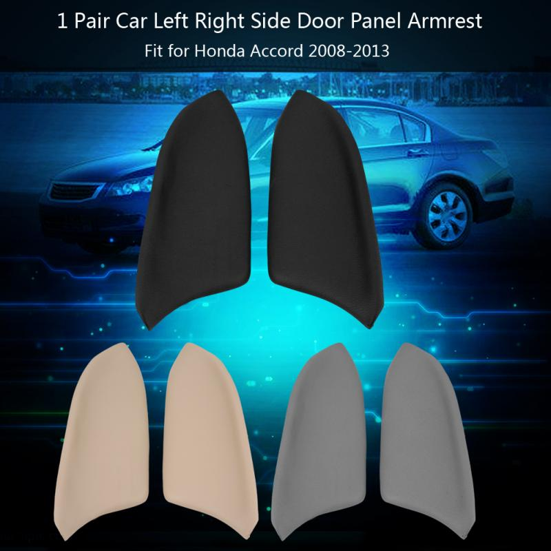 Um5vp 1Pair Left Right Real Leather Car Front Door