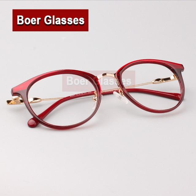15afaad6ec 2017 New Women S Retro Eyeglasses Frame Optical Acetate Fashion Eyewear  Full Rim Prescription Spectacles Frame 2201
