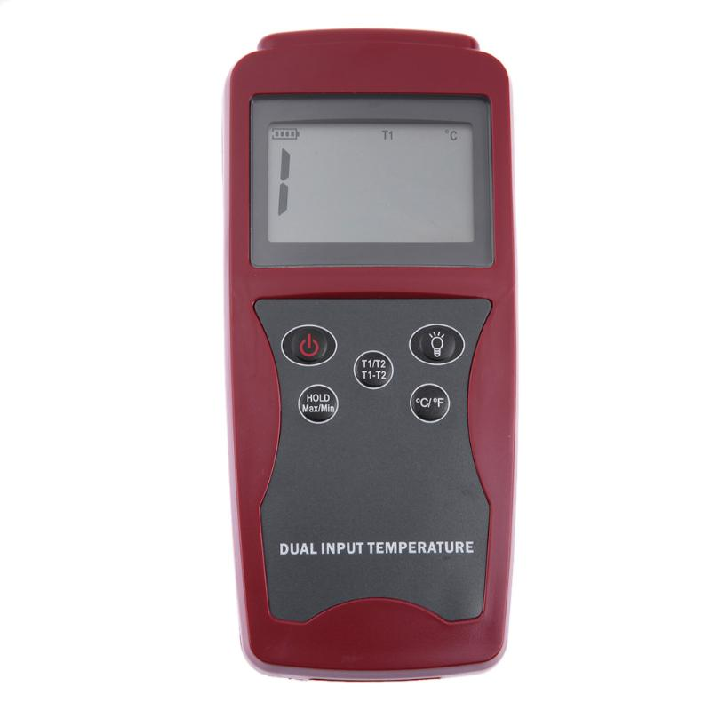 DT821A K Type LCD Digital Thermocouple Thermometer 50 to 1300 Degree Multifunction Industrial Temperature Meter
