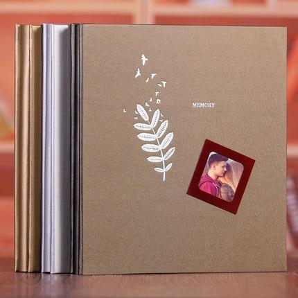 Bricolage Film Photo Album fait à la main pâte Photo galerie livre personnalisé romantique mémoire Record pour bébé amoureux famille mariage cadeau - 5