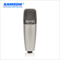 Hot Sale Original Samson C03U Multi Pattern USB Studio Condenser Microphone Large diaphragm recording microphone with USB cable