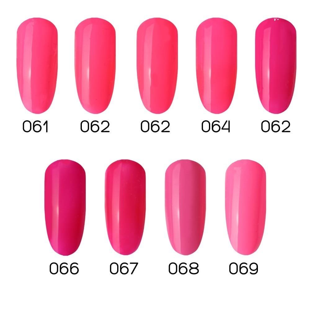 Μοντέρνο 1pc απορροφούν Rose Rose Pink Χρώμα - Τέχνη νυχιών - Φωτογραφία 2