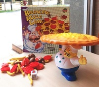 Toy - Pizza Balance Game Toy Funny Family Party Game for Ages 3 and Up