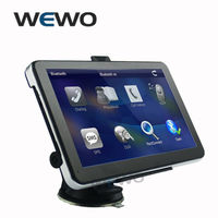 7 inch Auto GPS Navigator with Blutooth AV IN wince6.0 Freeshipping Maps for Russia/Belarus/Kazakhstan/USA+Canada gps navigation