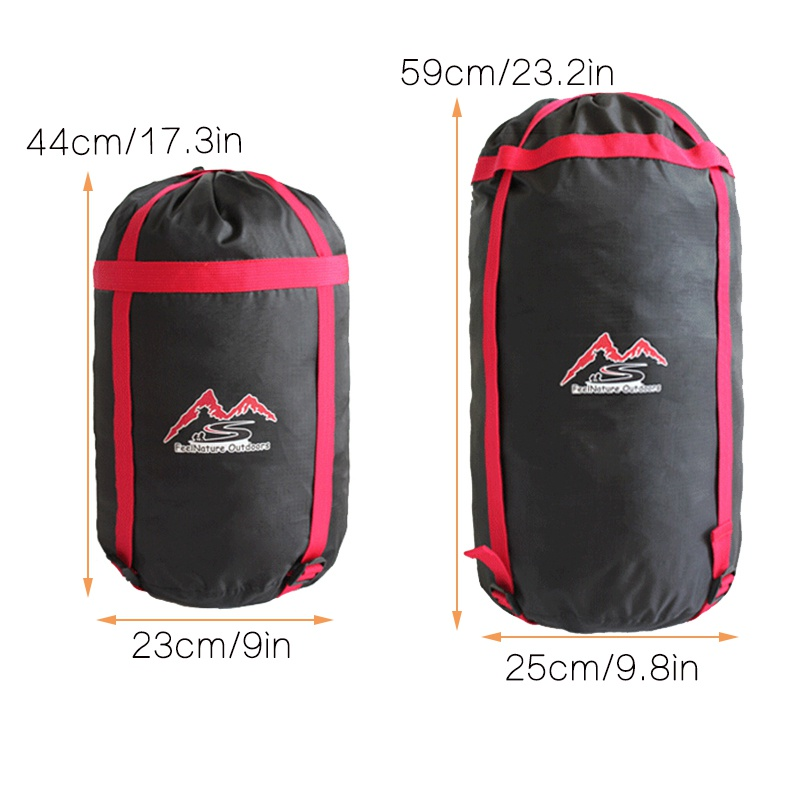 Image 3 - Practical Outdoor Camp Sleeping Bag Storage Pack Carry Bag Oxford Cloth Compression Stuff Sack Waterproof-in Sleeping Bags from Sports & Entertainment