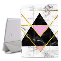 4 2 Marble Flip Case for ipad 9.7 inch 2018 2017 PU Leather Stand Cover Frosted Back Case For iPad 2 3 4 auto sleep & wake (3)