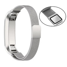 High Qualty Watch band strap Replacement Milanese Magnetic Loop Stainless Steel Band For Fitbit Alta Smart Watch 12mm high quality watch band strap replacement milanese magnetic loop stainless steel magnetic lock band for fitbit alta