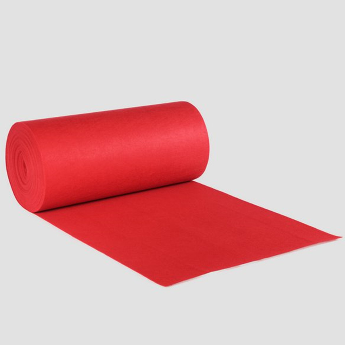 Polyester Red Carpet Wedding Aisle