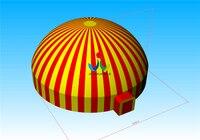 Диаметр могут быть настроены привлекательный дом надувной купол палатки для цирк событие с Coldproof ПВХ брезент