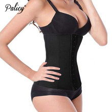 Palicy Afslanken Buik Riem Body Shaper Voor Vrouwen Sexy Shapewear Latex Taille Trainer Afvallen Shaper Taille Cinchers(China)