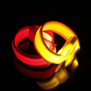 30PCS/LOT LED bracelets colorful glow flashing wrist band for event party decoration glowing bracelet LED lights wrist ring