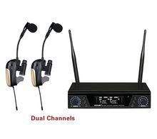 ACEMIC Pro двухканальный Беспроводной саксофон микрофон правда разнообразие, Беспроводной саксофон Системы усилитель для музыкальных инструментов