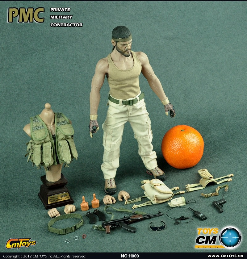 CMTOYS 1/6 scale doll seamless body male PMC beard Soldier,Super flexible Action figure doll model toy, Limited Collector did1 6 scale doll jean reno french soldiers special edition super flexible figure model toy wwi soldier finished product
