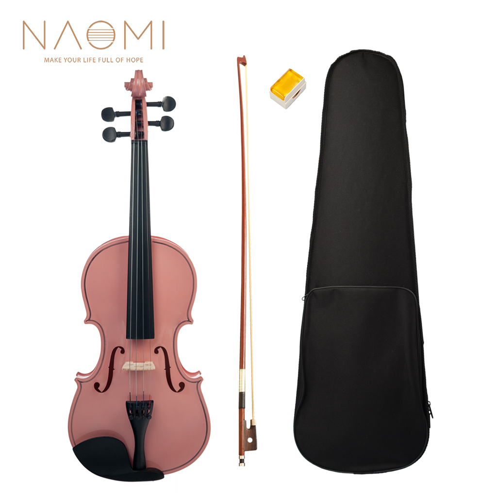 NAOMI Acoustic Violin 4/4 Full Size Violin Fiddle Student Violin Acoustic Violin For Beginners Students NewNAOMI Acoustic Violin 4/4 Full Size Violin Fiddle Student Violin Acoustic Violin For Beginners Students New
