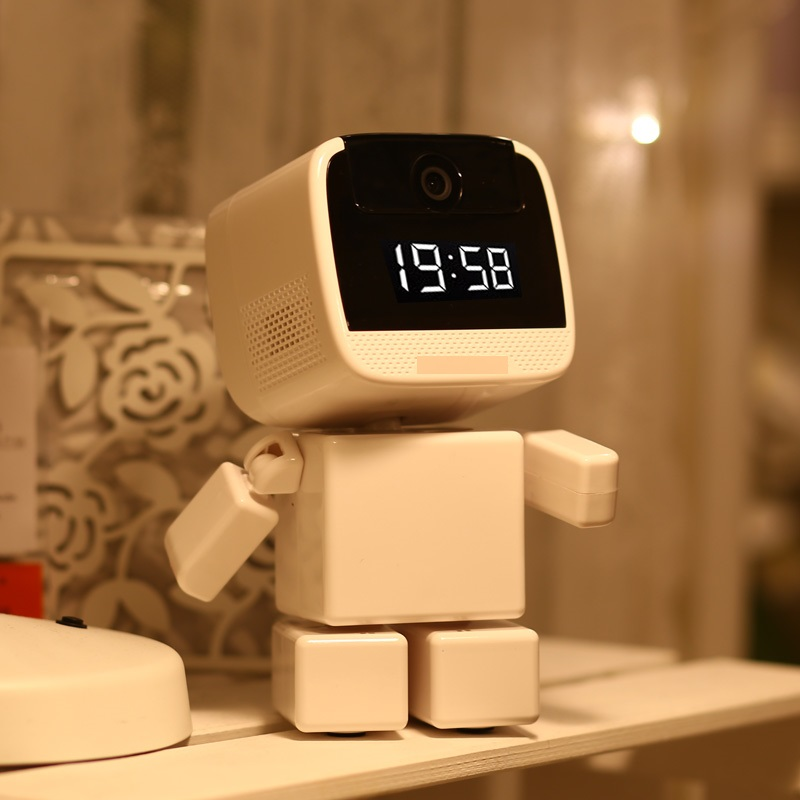 YA-YN3 Wireless Robot 960P IP Camera WIFI Clock Network CCTV HD Baby Monitor Remote Control Home Security Night Vision