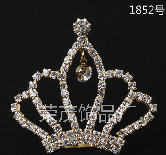 Metal Rhinestone Claw chains Crown Button for Girl Hair Flower Center Wedding  Invitation Scrapbooking Sewing Accessories 62231b33c63c