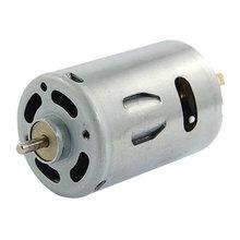 12 V 2A 20000 RPM Potente Mini Motor de CORRIENTE Continua para Los Coches Eléctricos DIY Proyecto
