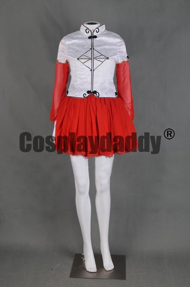 Cardcaptor Sakura Sakura Kinomoto robe de fille magique Costume Cosplay F006