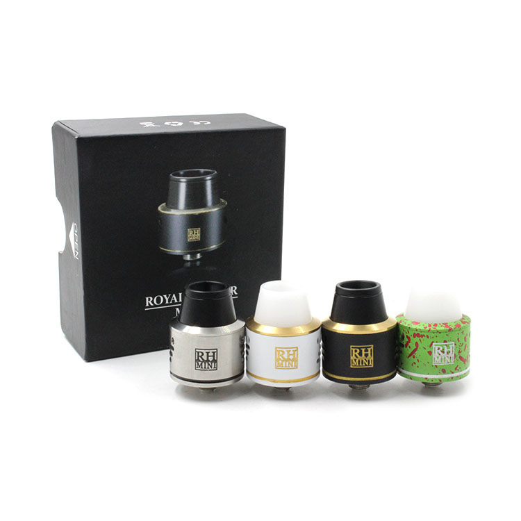 Newest Mini Royal Hunter RDA Atomizer E font b Cigarette b font Rebuildable Dripping Tank Mini