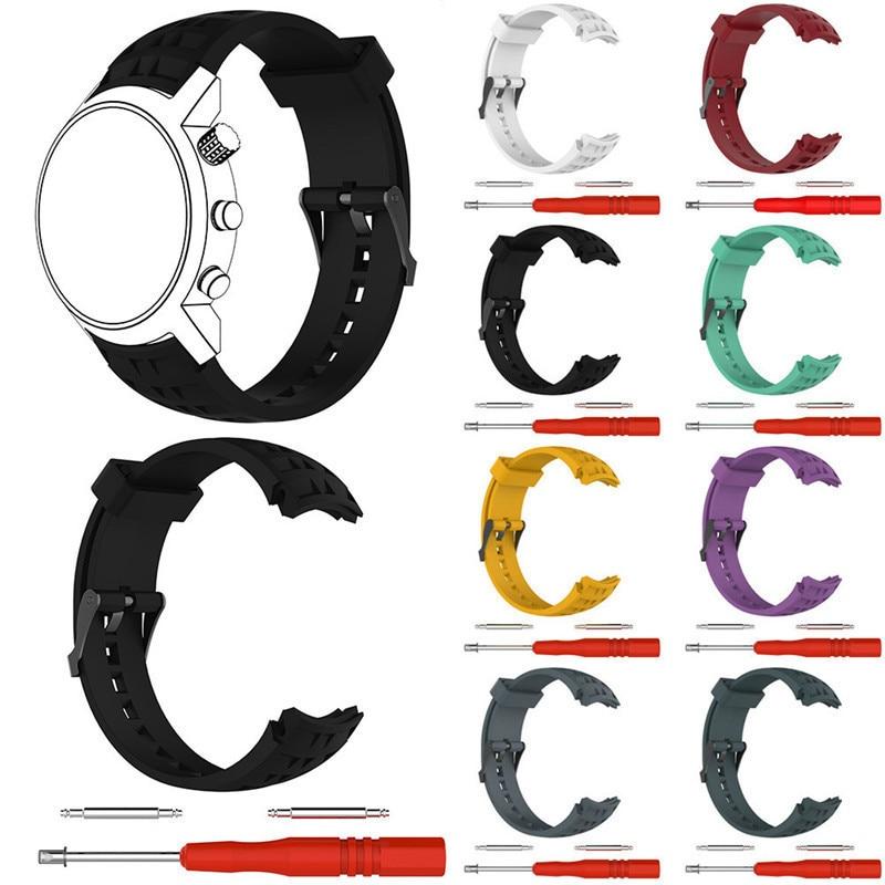 Bracelet Remplacer Bracelet Bande pour Suunto Elementum Terra Série Smart Bracelet Mâle Femelle Remplacer Bracelet En Silicone Bande Pour SUUNTO