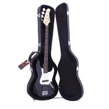 ( Ship from US ) Premium Electric Bass Guitar Gig Bag Backpack Case Cover Water-Resistant Electric Bass Microgroove Hard Case(China)