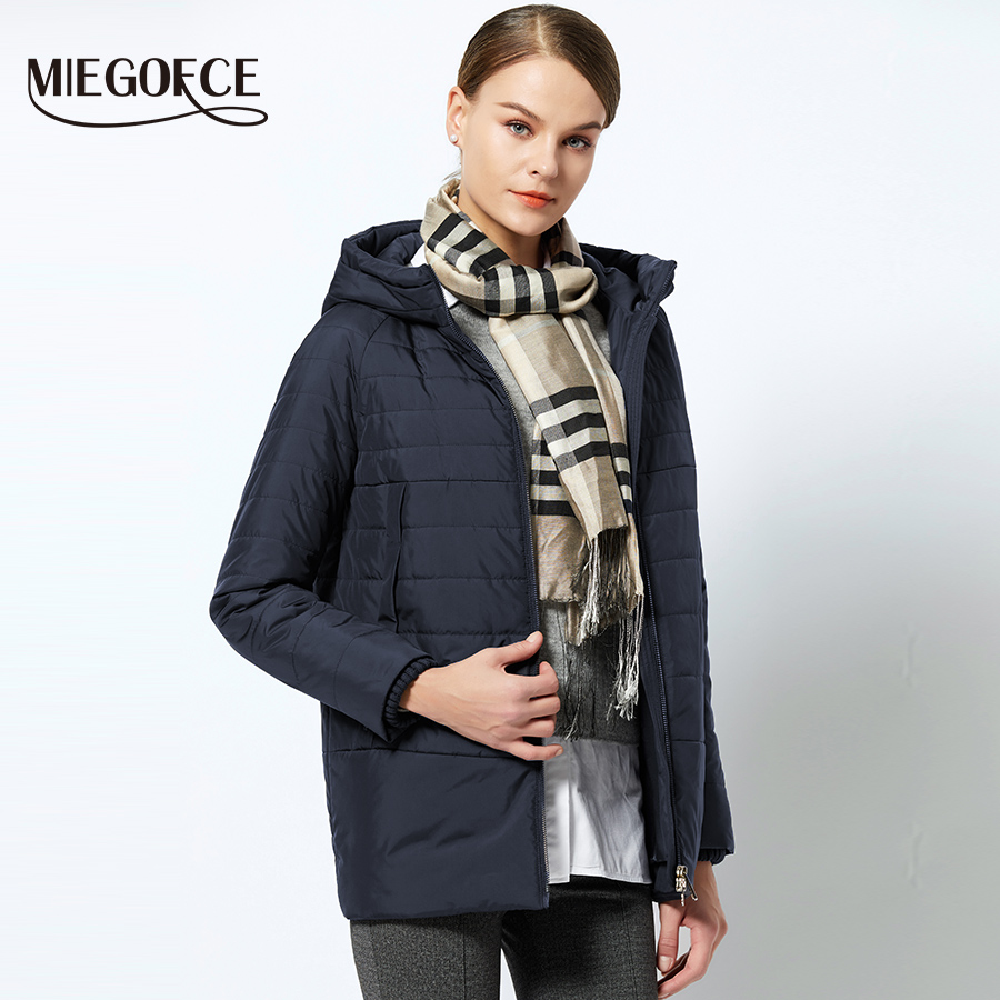 9af1b23ca 2018 MIEGOFCE New Women Spring Jacket Women's Thin Cotton Padded ...