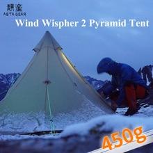 ASTAGEAR windwisper2 pyramid tent ul camping